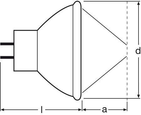 Żarówka halogenowa 150W 15V 64634HLXEFR Osram,2
