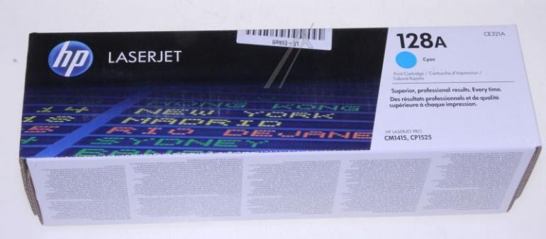Toner cyjan do drukarki HP CE321A,0