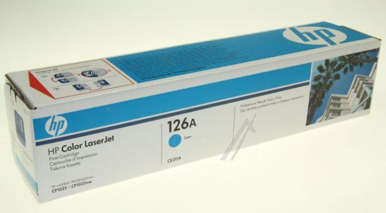 Toner cyjan do drukarki Hewlettpackard CE311A,0