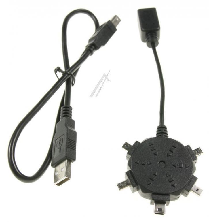 Adaptery USB 50cm,4