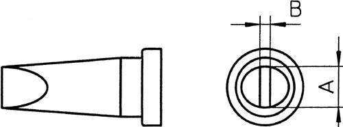 Grot lutowniczy do lutownicy Weller LT-A T0054444099,0