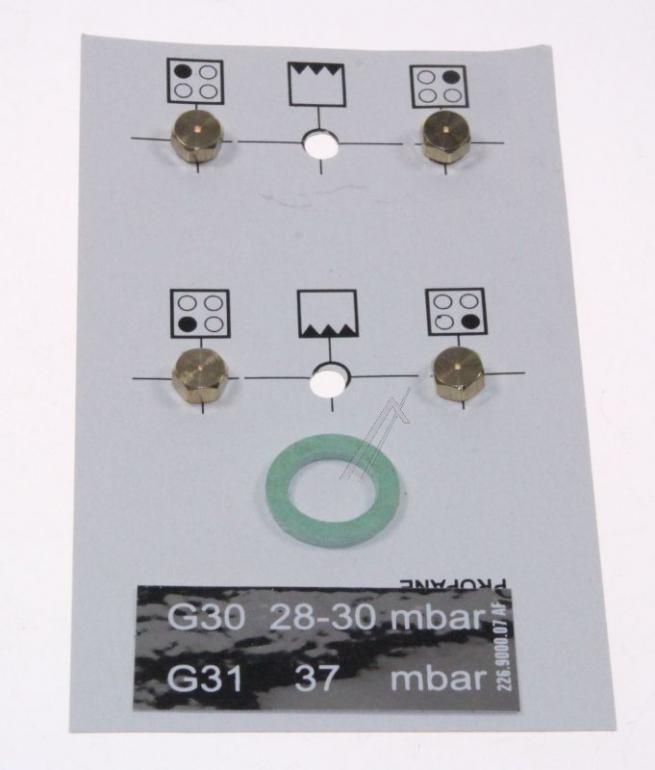 Dysze propan-butan do płyty gazowej Beko 4431900075,0