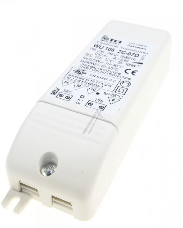 105020126 TRANSFORMATOR ELEKTRONISCH. 105 W. 220 V FALMEC,2