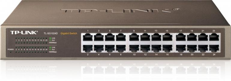 Switch TP-LINK TLSG1024D,0