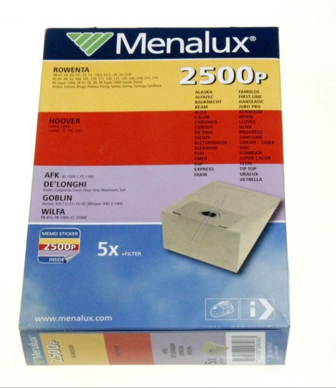 Worki 2500P 5szt. do odkurzacza ELECTROLUX / AEG,0