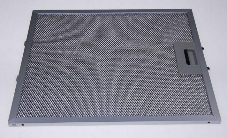 Filtr przeciwtłuszczowy metalowy (aluminiowy) do okapu Whirlpool 480122102386,0