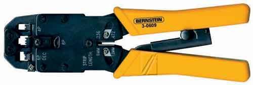 Zaciskarka kabli sieciowych Bernstein 30609,0