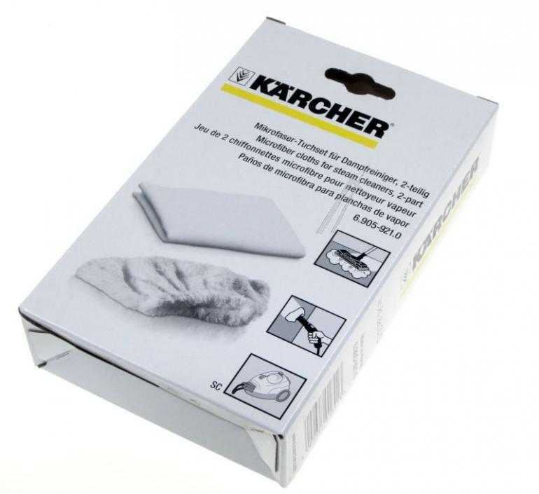 Ściereczki z mikrofibry do parownicy Karcher 69059210,0