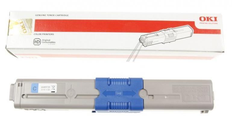 Toner cyjan do drukarki OKI 44469706,0