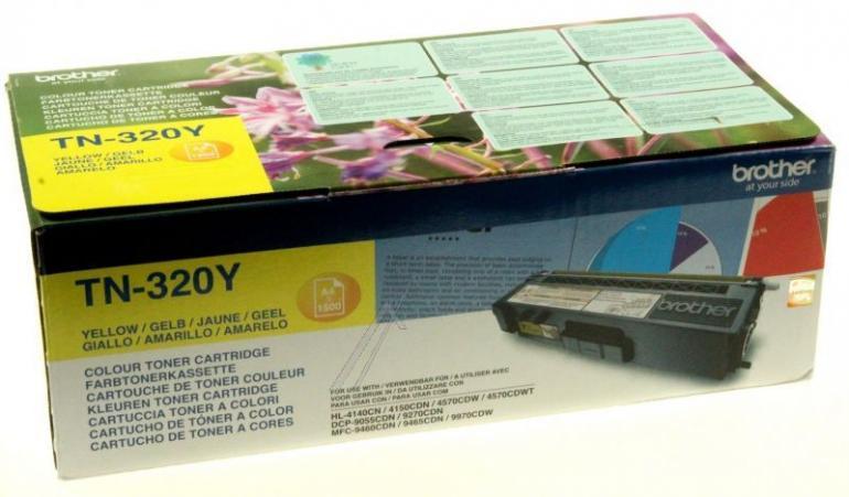 Toner żółty do drukarki BROTHER TN320Y,1