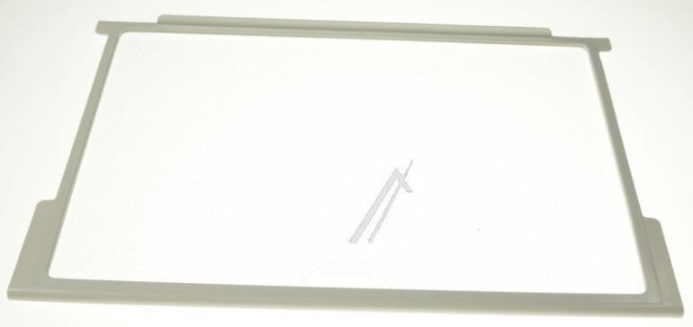 Półka szklana z prowadnicami komory chłodziarki do lodówki Belling 179038,0