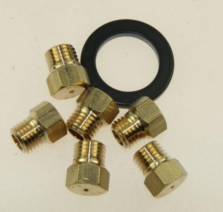 Dysze propan-butan do płyty gazowej Whirlpool 481231038976,0