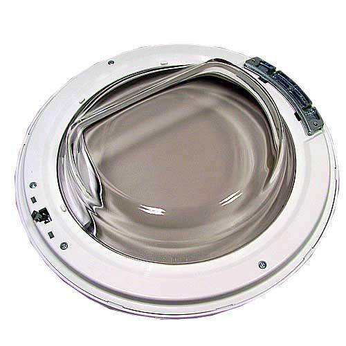 Drzwi kompletne z zawiasem do pralki Candy 41014742,0