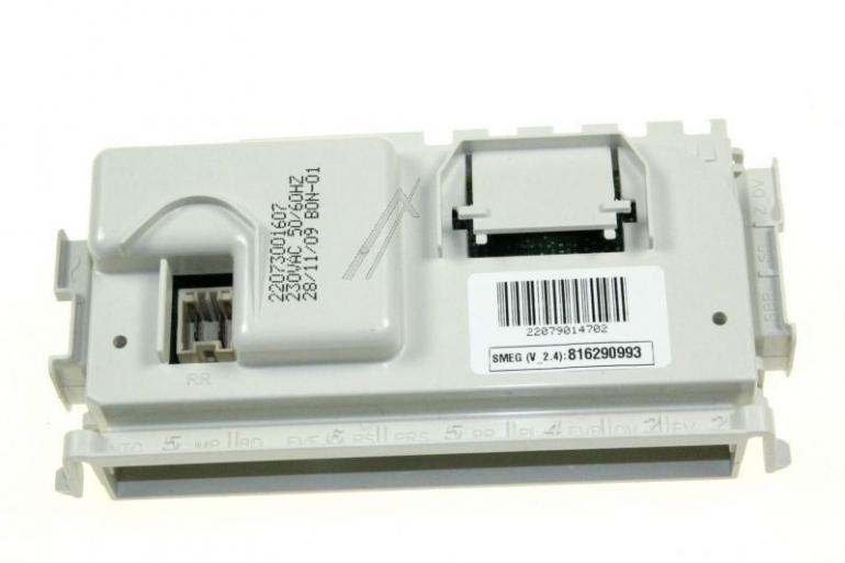 Moduł sterujący zaprogramowany do zmywarki Smeg 816290993,0