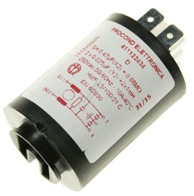 Kondensator rozruchowy do pompy myjącej do zmywarki AEG 1113155202,0