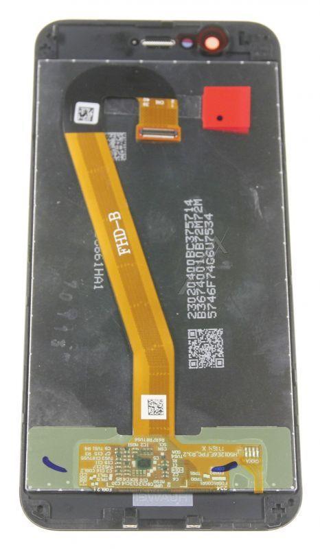 02351LQX LCD + dotyk, komplet do Huawei Nova 2, czarny HUAWEI,1