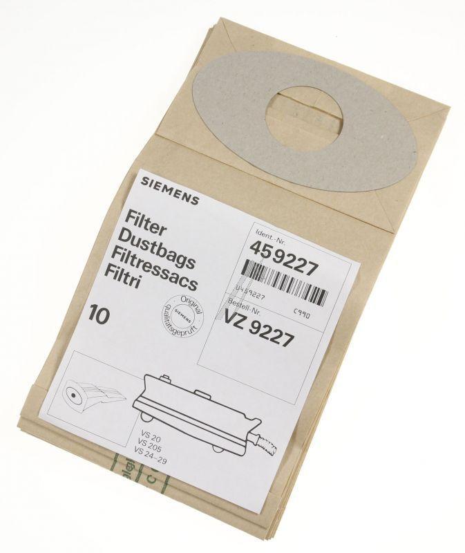 Worki VZ9227 do odkurzacza Siemens,0