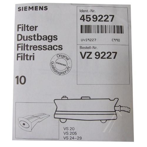 Worki VZ9227 do odkurzacza Siemens,3