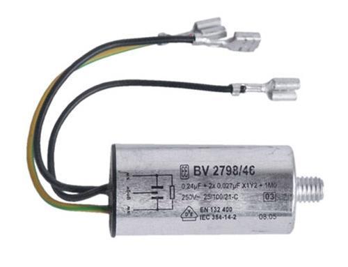 Kondensator rozruchowy do pralki Bosch BV 2798/46 00043806,0