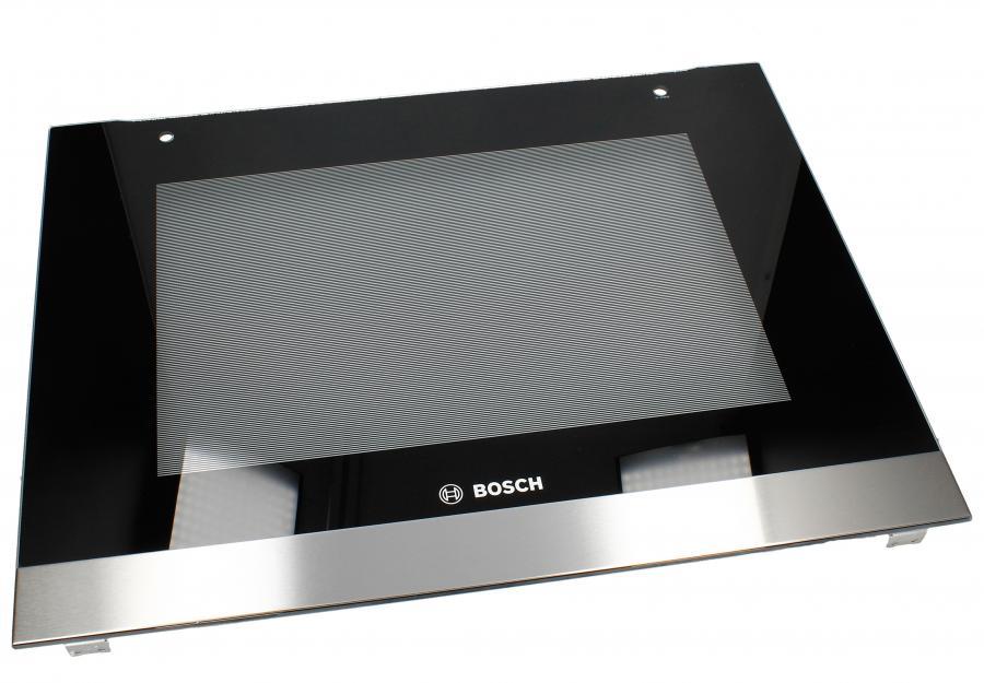 Zewnętrzna szyba drzwi z ramą do piekarnika Bosch 00688387,0