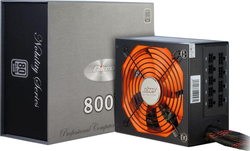 Zasilacz ATX NITROX CN800NS,0