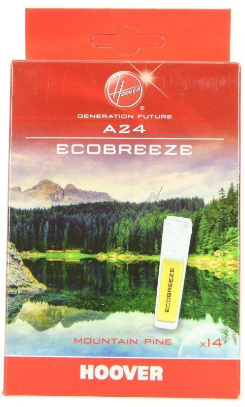 Wkład zapachowy górska bryza 14szt. Hoover A24 do odkurzacza,0