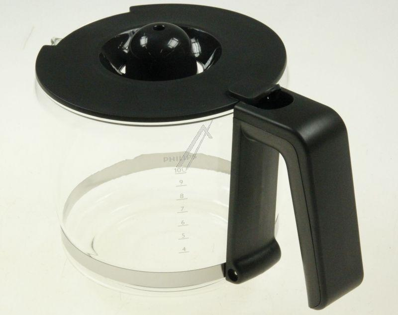 Dzbanek szklany z pokrywką do ekspresu Philips 996510057271,0