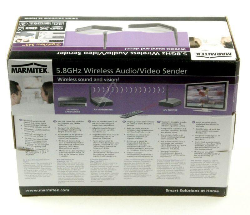 Transmiter bezprzewodowy audio/video 08072,4