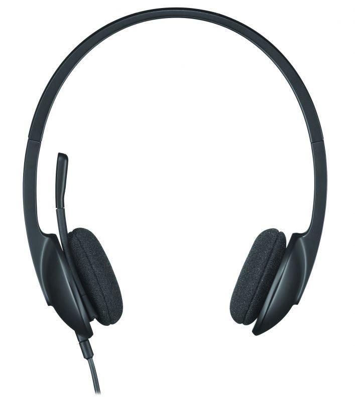 981000475 H340 STEREO-HEADSET, USB LOGITECH,0