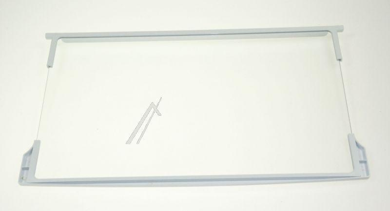 Półka szklana z ramkami do komory chłodziarki do lodówki Indesit 482000031695,0
