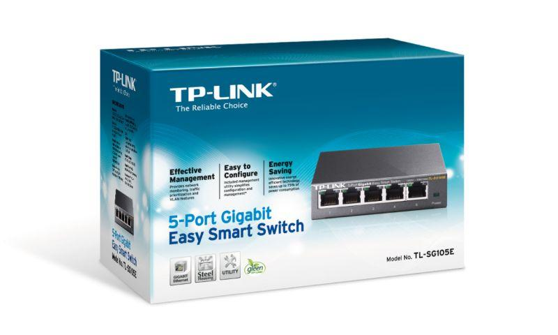 Switch TP-LINK TLSG105E,2