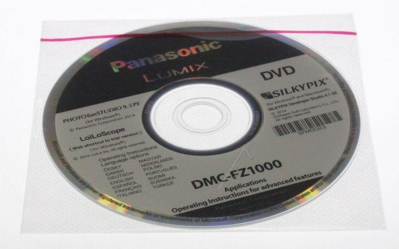 Płyta z oprogramowaniem do aparatu fotograficznego Panasonic SFM0023,0
