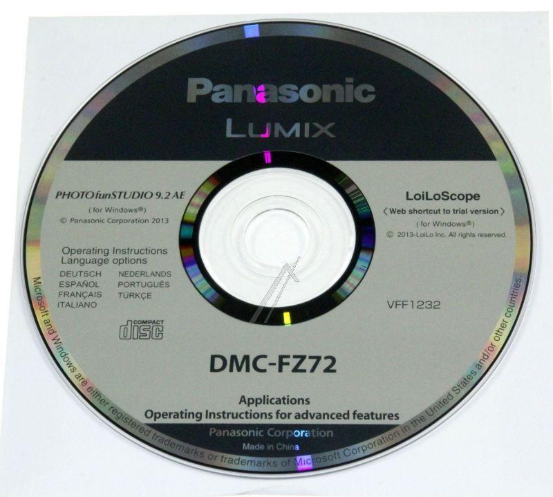 Płyta z oprogramowaniem do aparatu fotograficznego Panasonic VFF1232,0