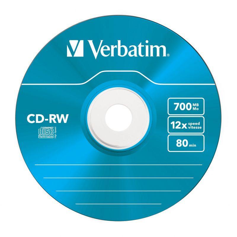 Płyty CD-RW VERBATIM 43167,1