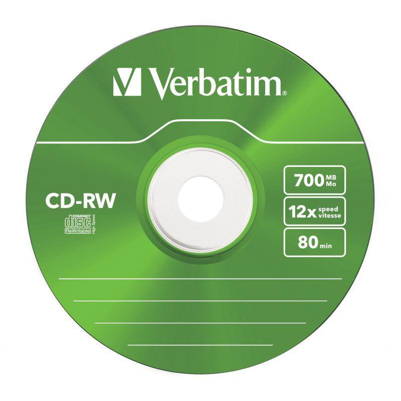 Płyty CD-RW VERBATIM 43167,2