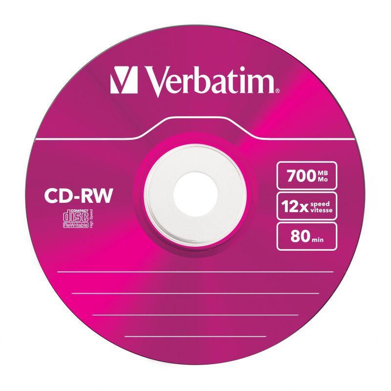 Płyty CD-RW VERBATIM 43167,4