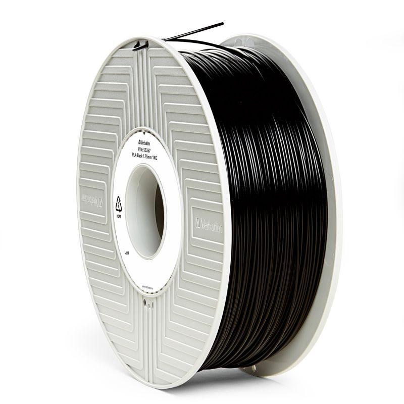 Włókno | Filament PLA 1.75mm Verbatim 55267 (czarny),0