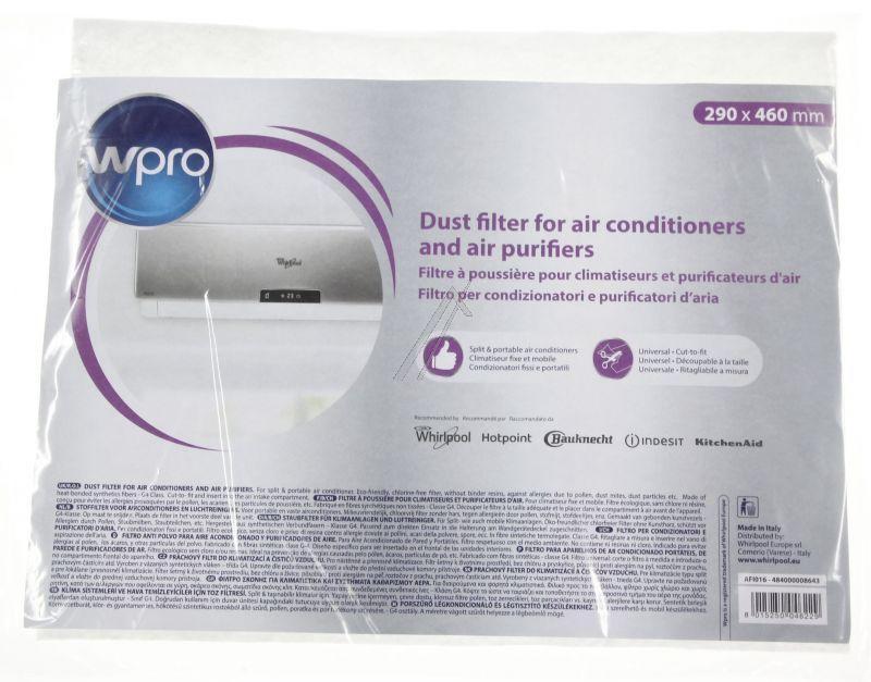 Filtr uniwersalny do klimatyzacji WHIRLPOOL/INDESIT 484000008643,0