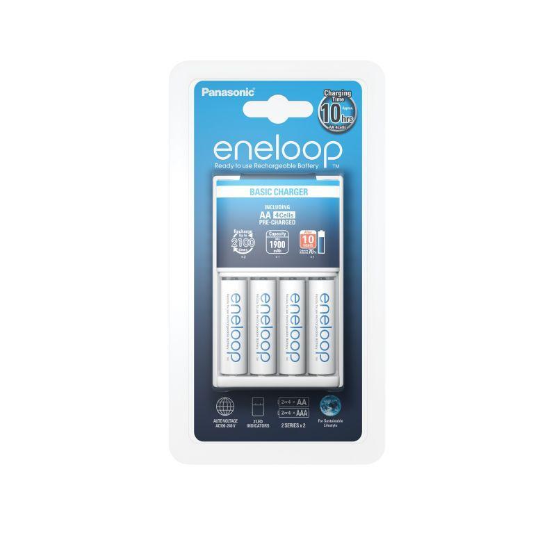 Ładowarka + akumulatorki AA KKJ51MCC40E Eneloop,0