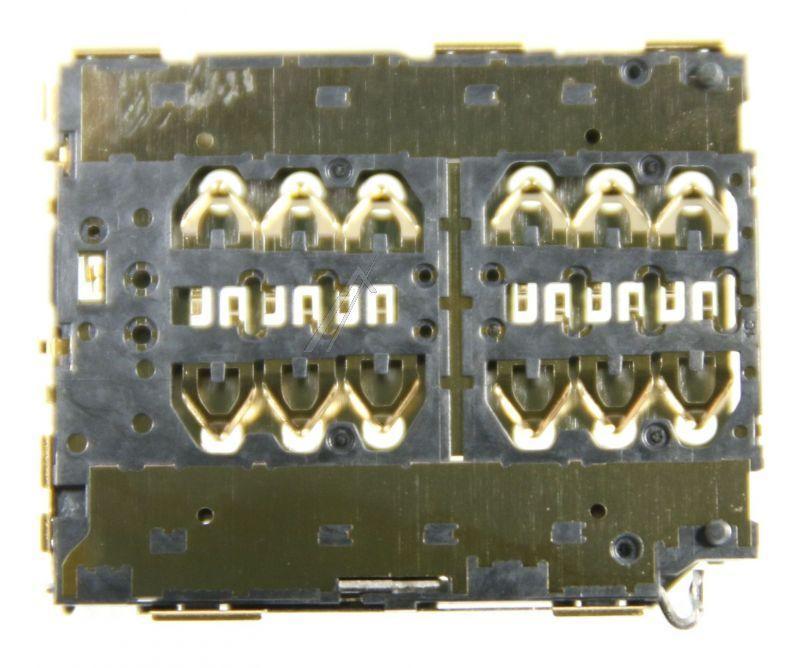 14241124 Gniazdo karty SIM DUAL NANO PIN-3*2+3*2 do HUAWEI P20PRO HUAWEI,0