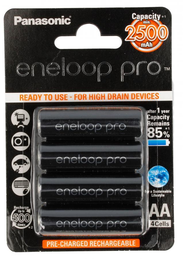Akumulatory AA 4x Eneloop Pro 2500mAh ,0