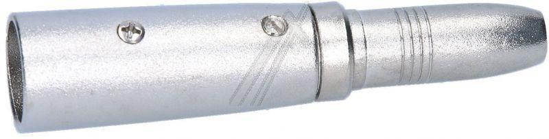 27454 Adapter  XLR  wtyk / gniazdo Jack 6,35mm mono GOOBAY,2
