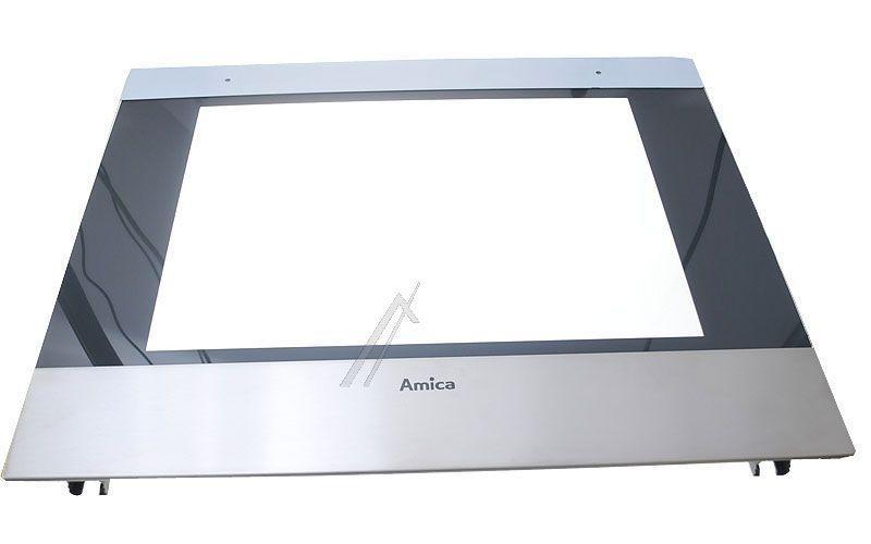 Zewnętrzna szyba drzwi z ramą do piekarnika Amica 9043600,0