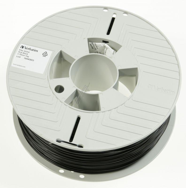 55318 Filament do druku 3d 1,75MM, 1 kg czarny VERBATIM,0