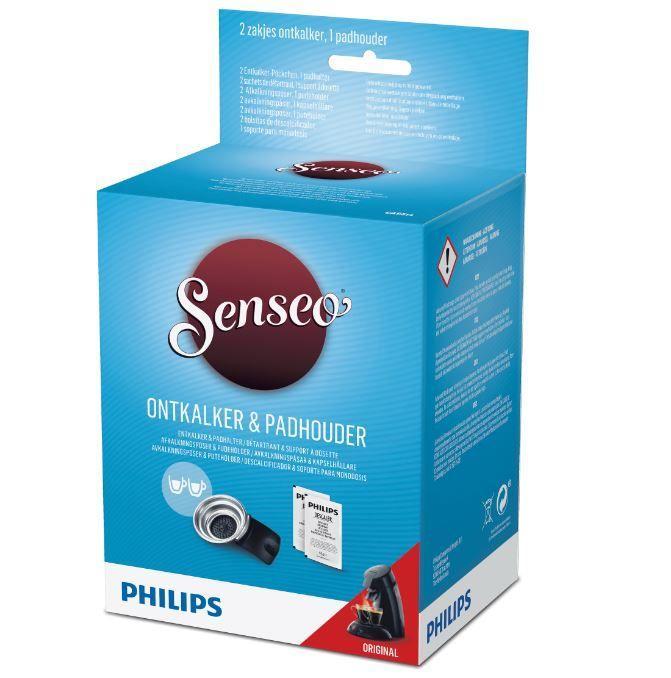 Odkamieniacz + uchwyt na saszetki do ekspresu PHILIPS/SAECO CA652202,0