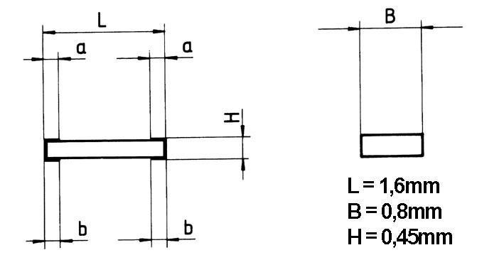 Rezystor metalizowany SMD 5.6K 0.1W,0