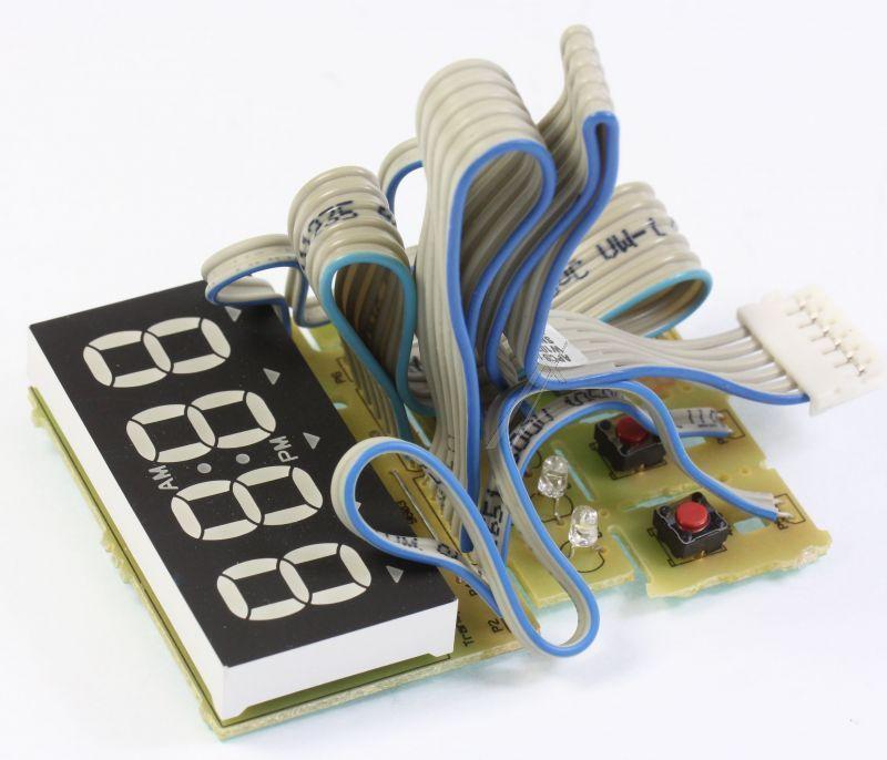 Wyświetlacz panelu sterowania do mikrofalówki Whirlpool 480120100759,0