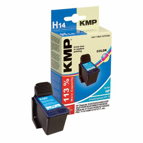 Tusz kolorowy do drukarki HP H14,0