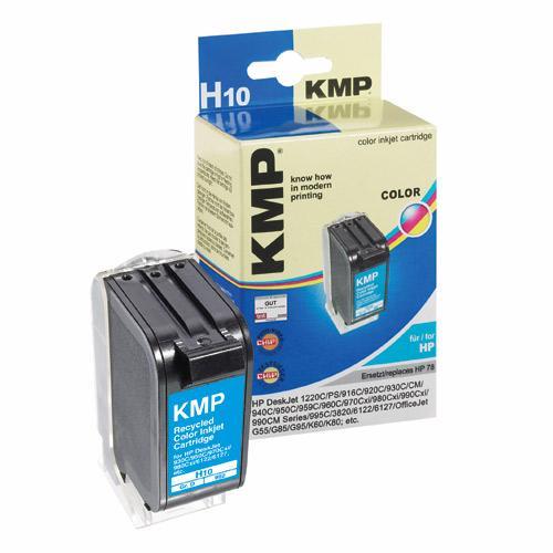 Tusz kolorowy do drukarki HP H10,0