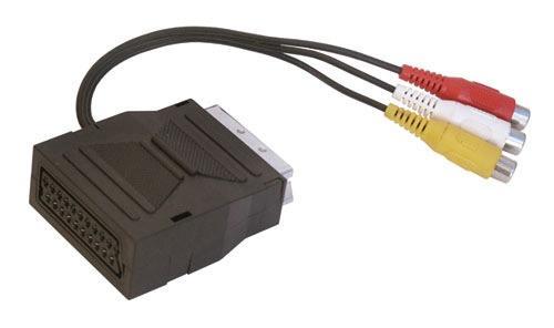 Adapter SCART - CINCH x3 PG3RI0M20,0